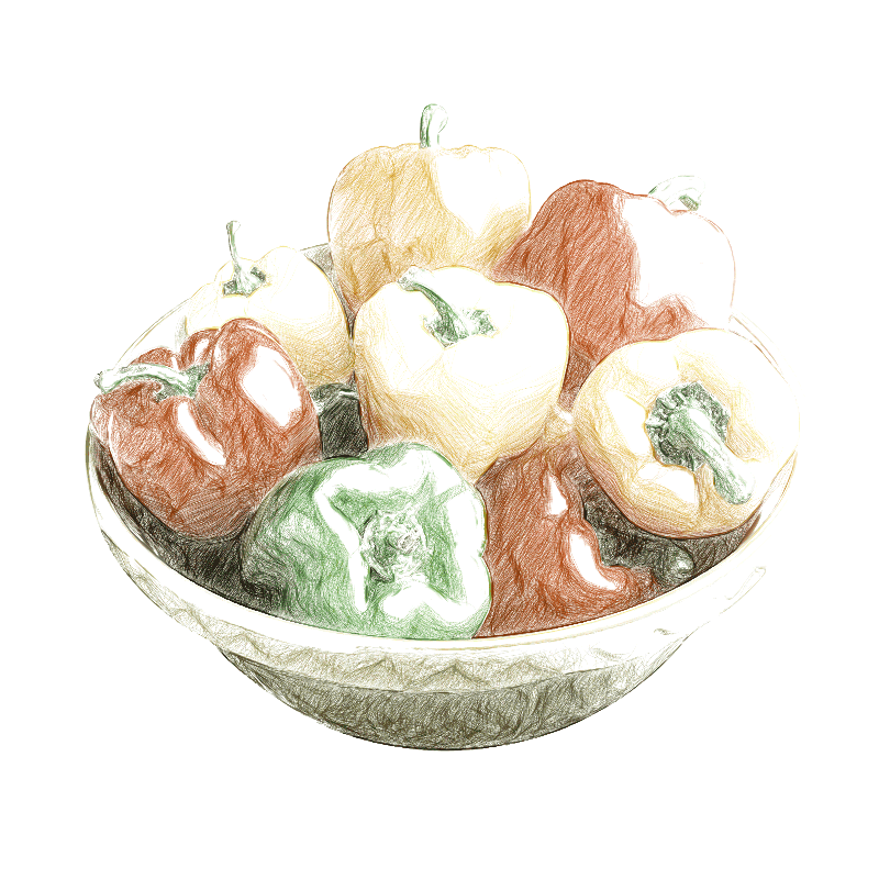 Hőpaplannal termelt paprika