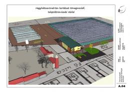Termelő szövetkezeti kertészet rekonstrukciója.