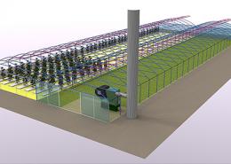 Hőpaplan fűtésű ikerfólia terve