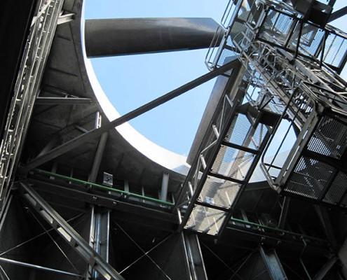 Heller-Forgó erőműi hűtőberendezés